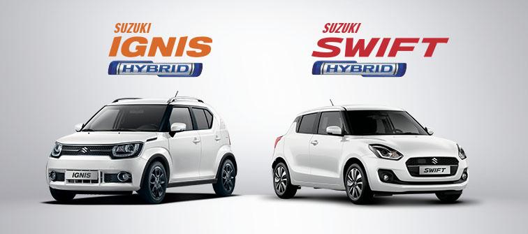 suzuki swift hybride ignis hybride
